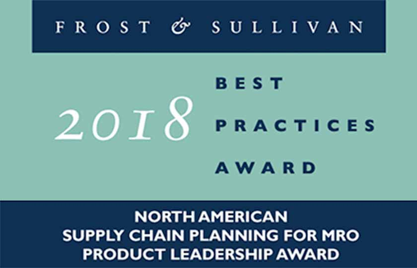 Analyst Recognition Frost & Sullivan MRO