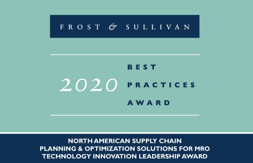 Frost & Sullivan Supply Chain Planning for MRO 2020