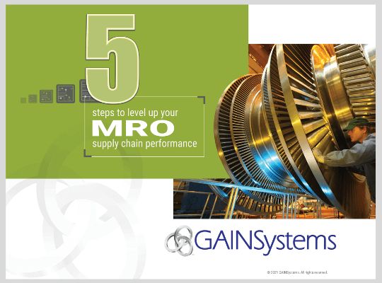 5 Steps to Level Up Your MRO Supply Chain Performance resources ebook